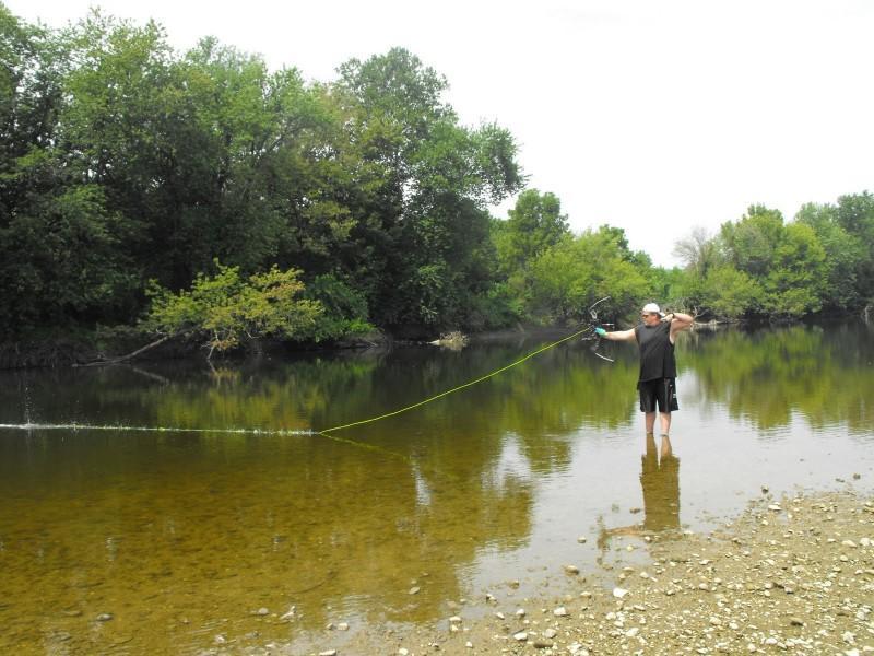 Рыбалка с луком - особенности охоты на рыбу.