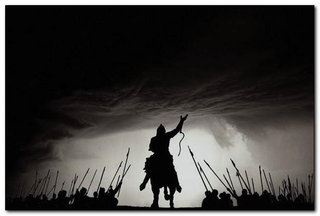 Воины гунны.