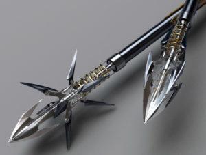 Охотничьи стрелы для арбалета.