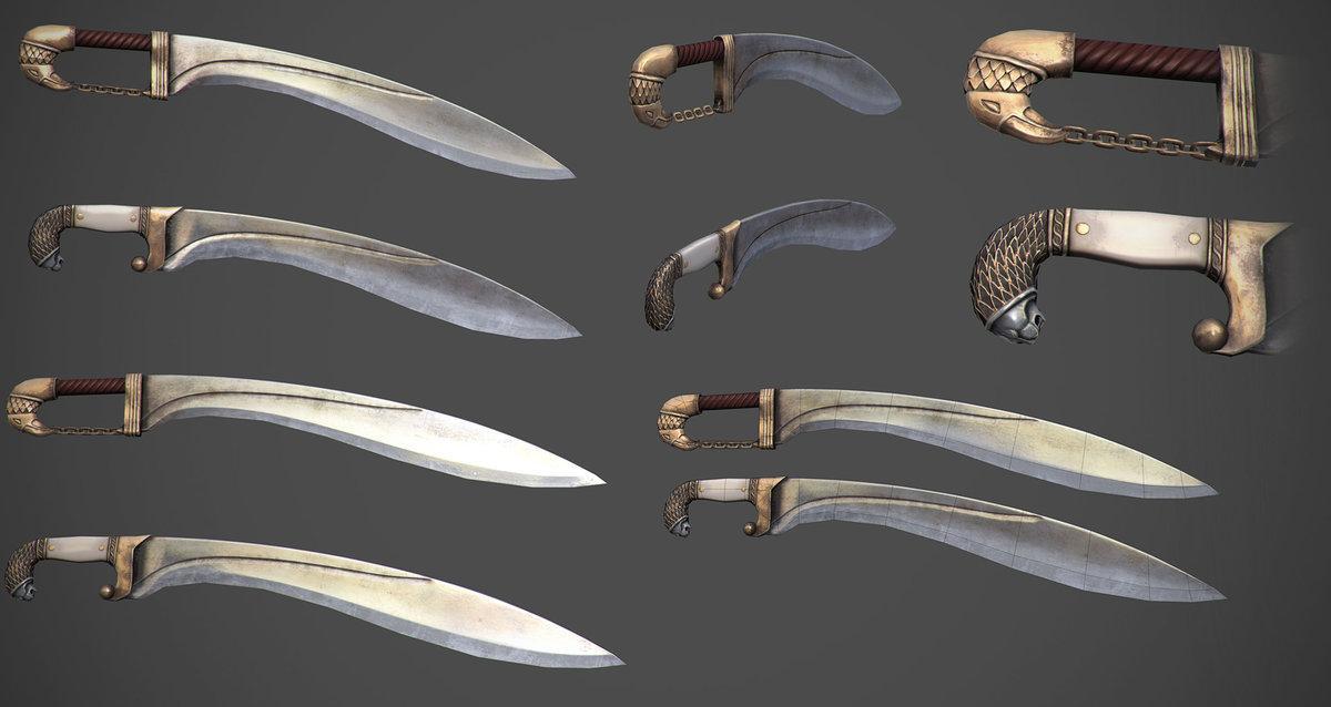 Много мечей