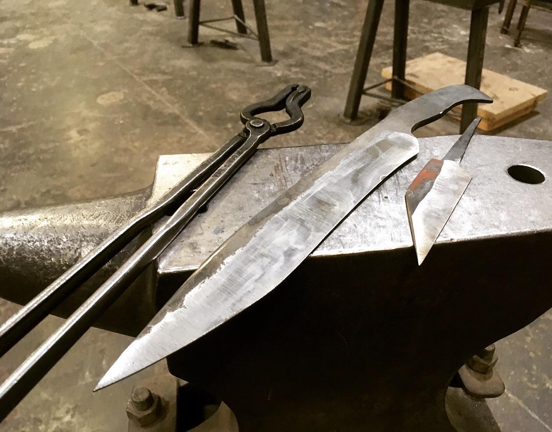 Ковка меча